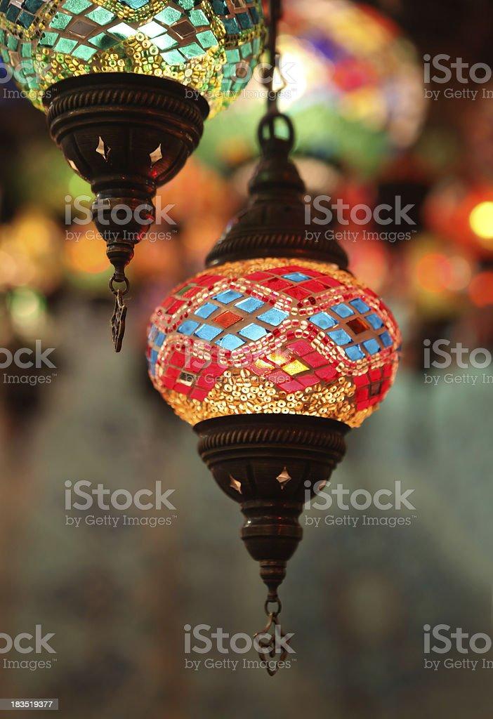 Des lanternes orientales - Photo