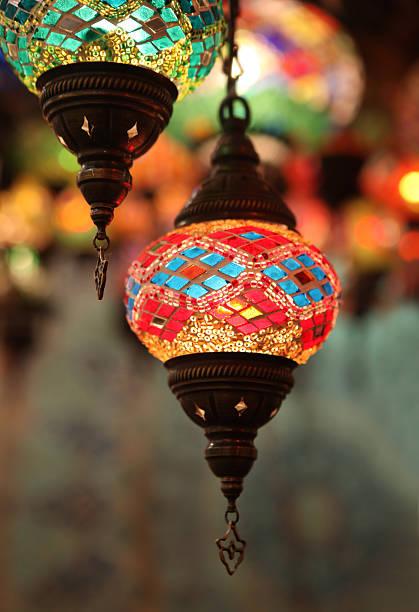 Lanternas Oriental - foto de acervo
