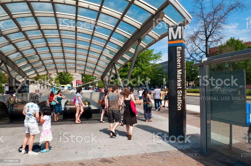 Eastern Market station in Washington, DC – Foto