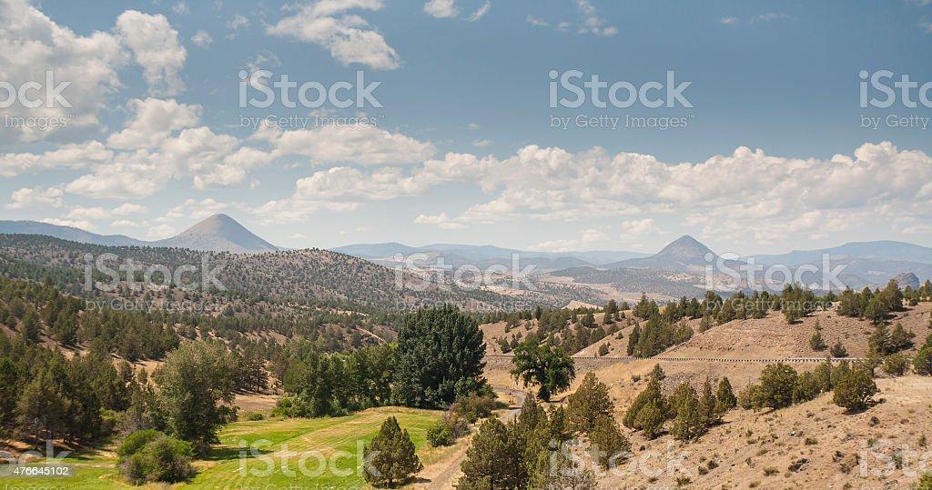 Eastern Oregon Landscape stock photo