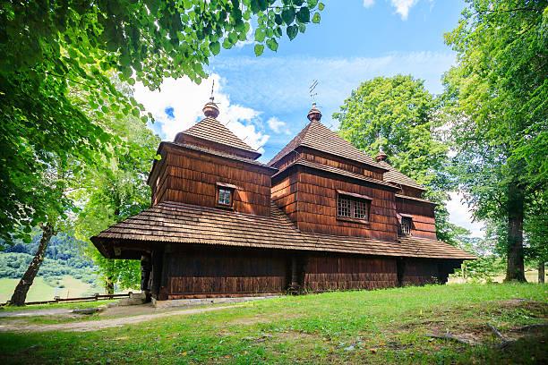 Östlich-orthodoxen Kirche in Lemko Smolnik, Polen – Foto