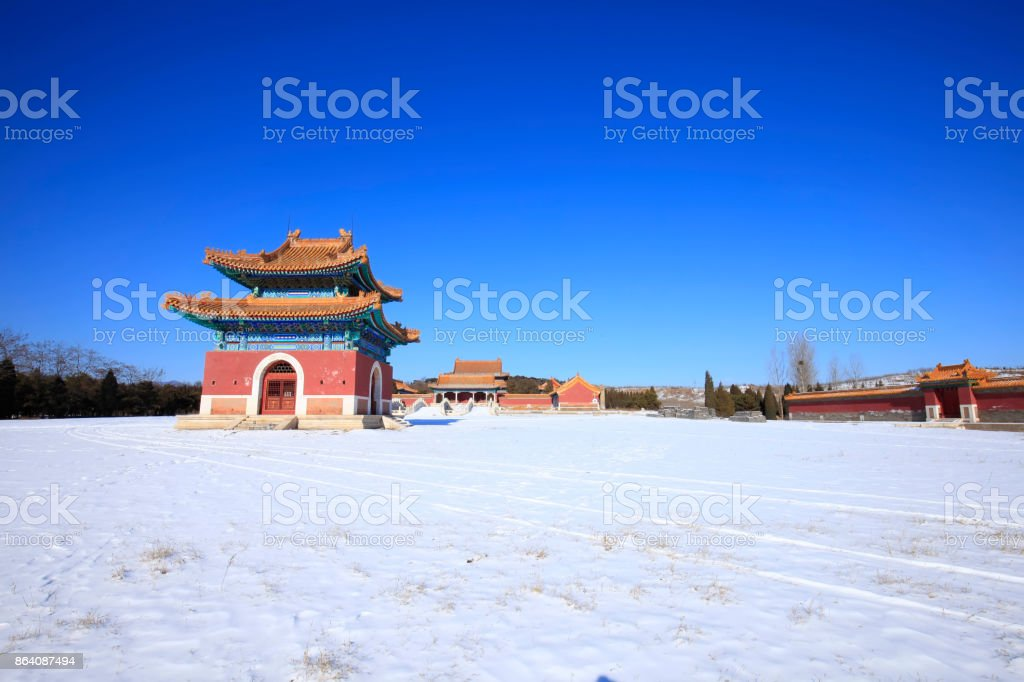 Eastern Royal Tombs of the Qing Dynasty royalty-free stock photo