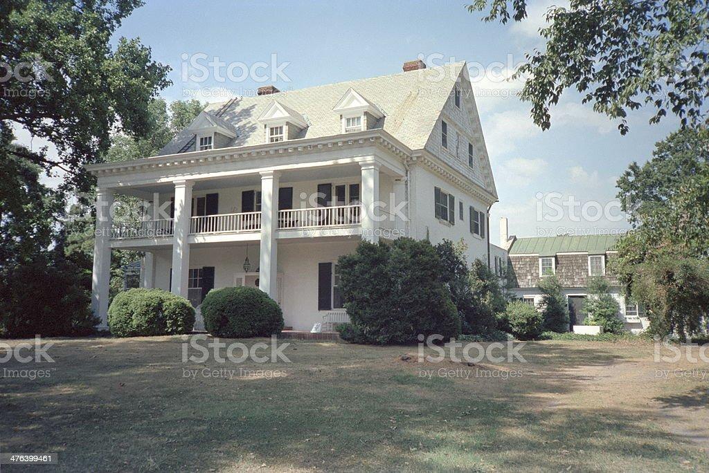 Eastern Shore Home stock photo