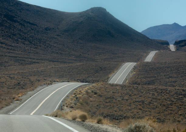 Eastern Sierras stock photo