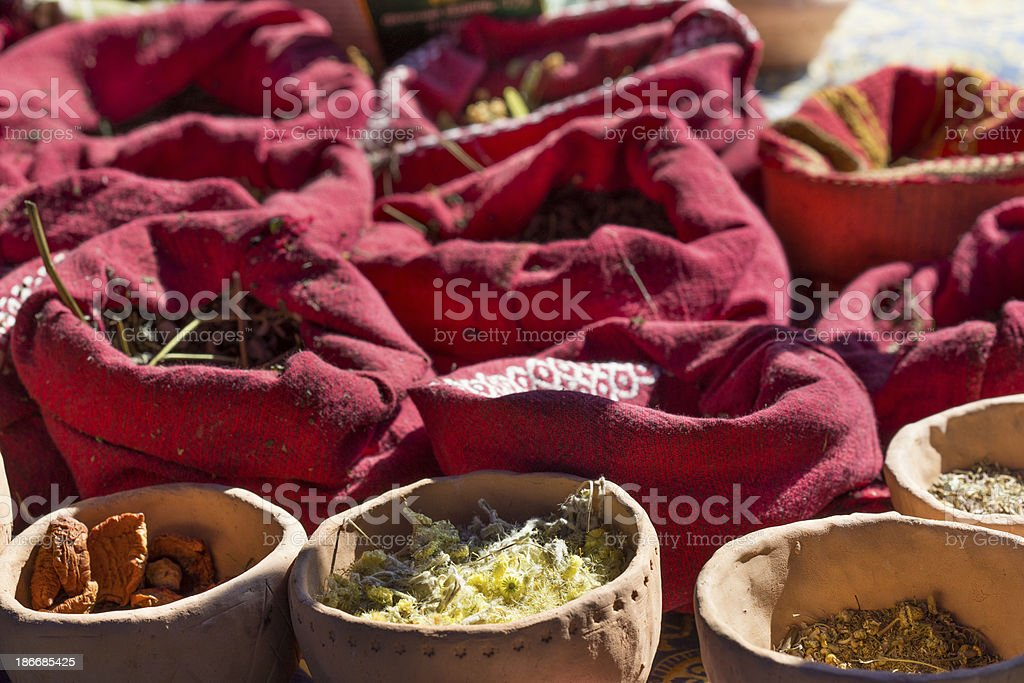 Eastern spices royalty-free stock photo