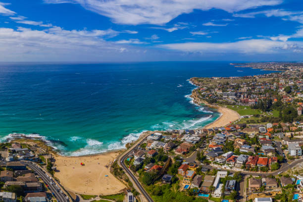 Eastern Suburbs costa Sydney Australia - foto de stock