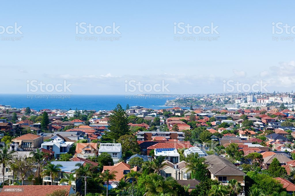 Eastern suburbs housing stock photo
