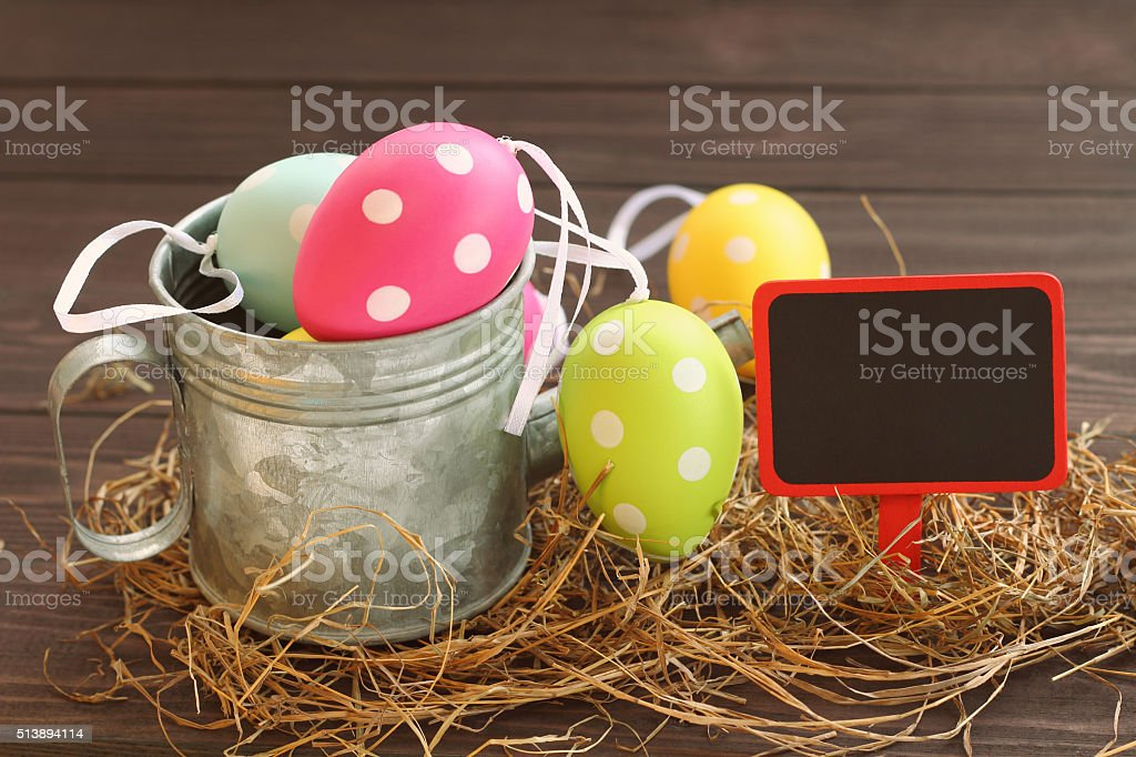 Easter's day. stock photo