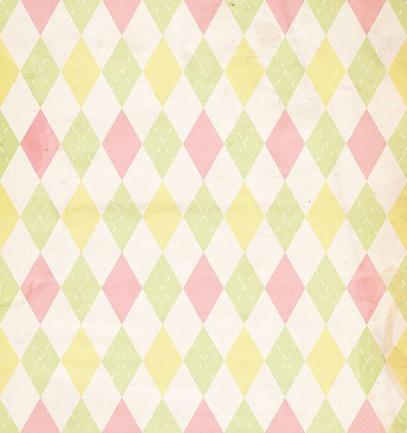 Easter/Spring Diamond Paper XXXL stock photo