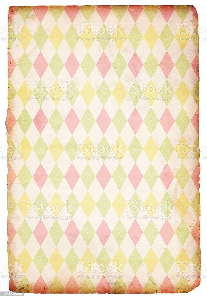 Easter/Spring Diamond Paper XXXL royalty-free stock photo