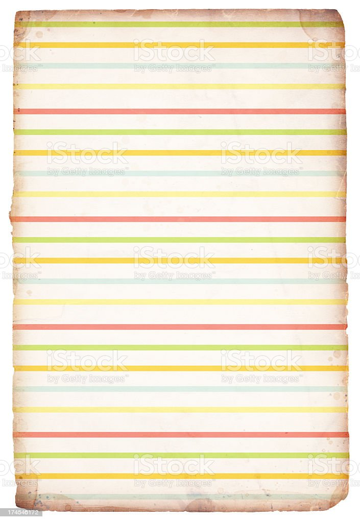 Easter/Spring Pastel Paper XXXL royalty-free stock photo