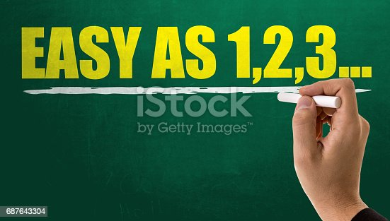 istock Easy as 1,2,3... 687643304