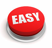 istock Easy Button 187613497