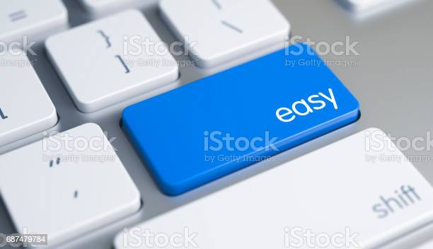 Easy inscription on blue keyboard key 3d picture id687479784?b=1&k=6&m=687479784&s=612x612&h=9kmzccqx6ykaubqmotqe2zm46tk55aquvp ncycntck=