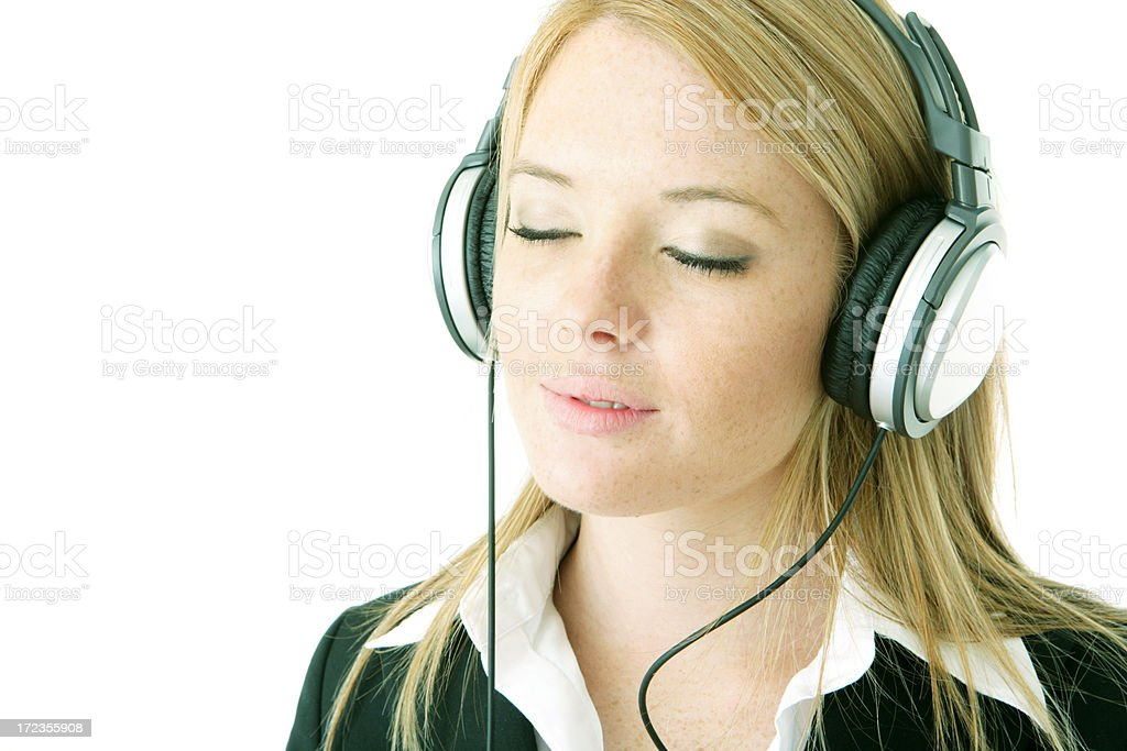 Easy Listening royalty-free stock photo