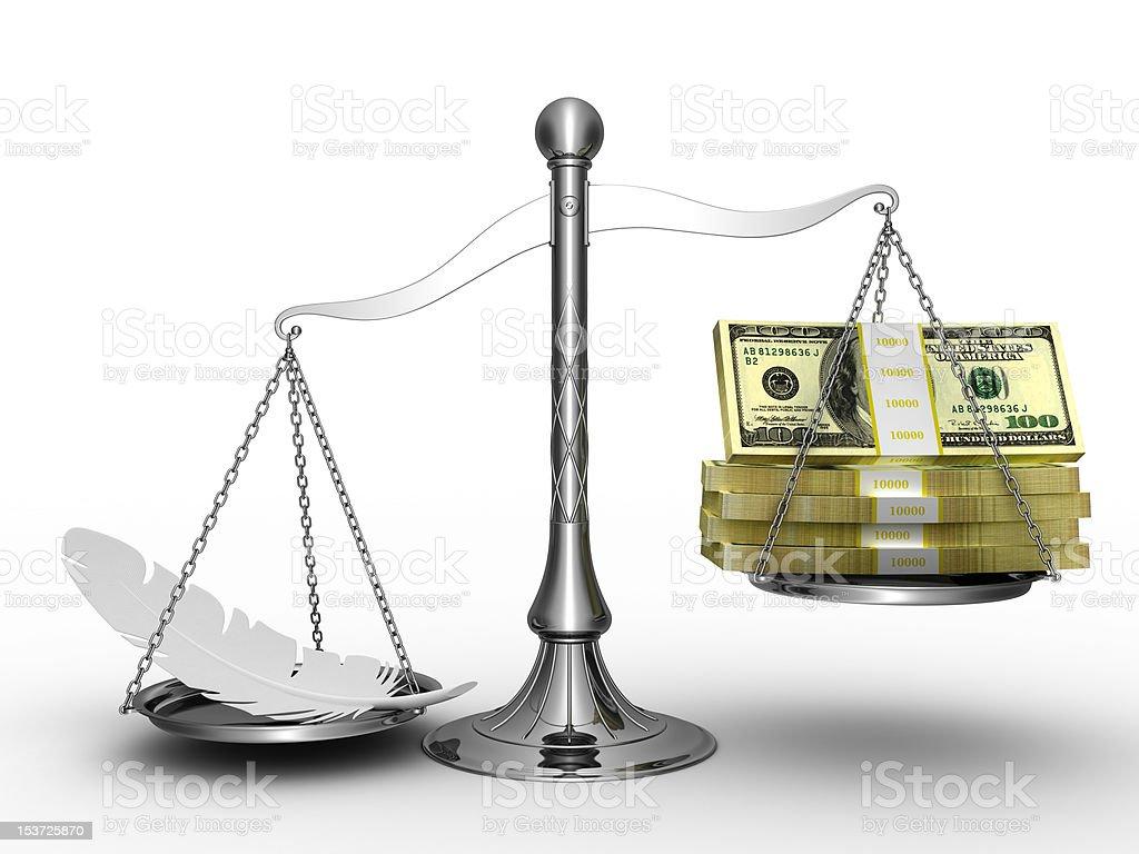 Easy money. royalty-free stock photo