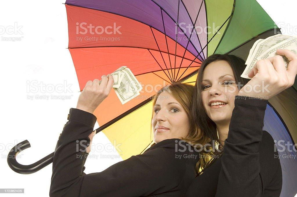 Easy money stock photo