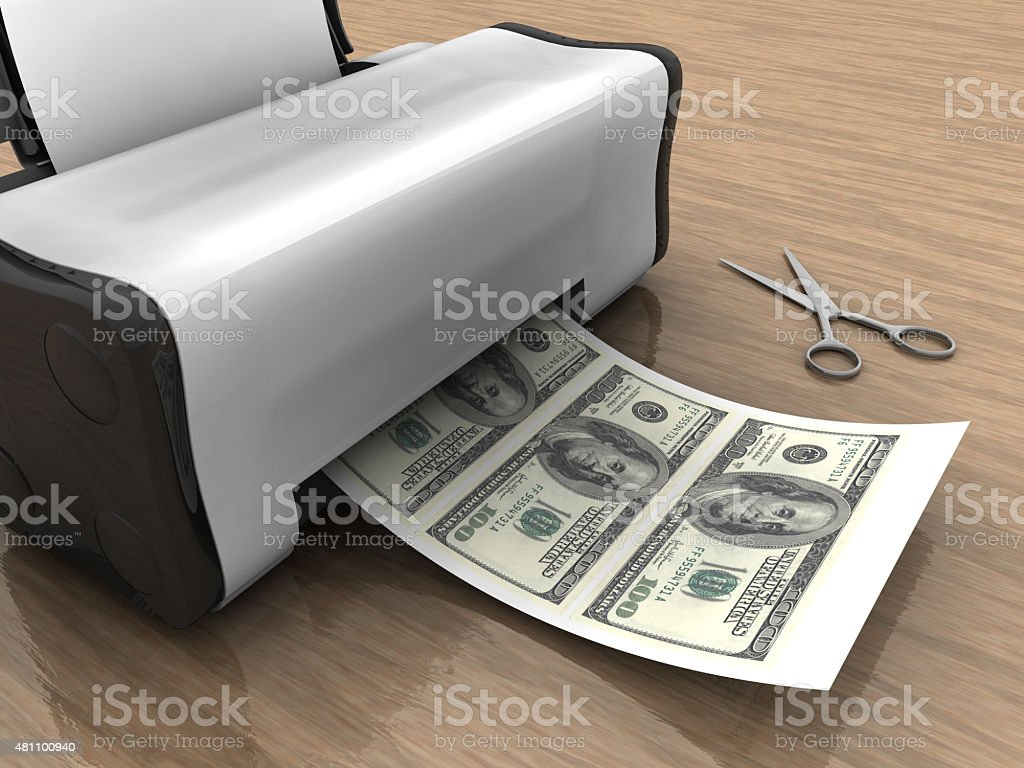 Easy Money stock photo