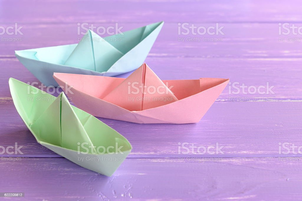 Easy Origami Crafts For Kids To Do Stock Photo More Pictures Of