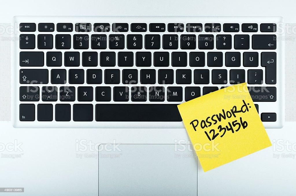 easy password stock photo