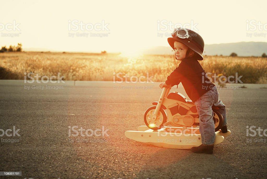 Easy Rider royalty-free stock photo