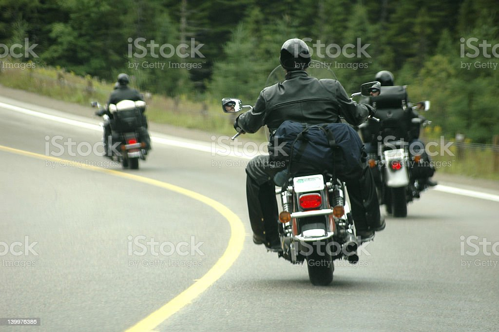 Easy Riders 3 stock photo