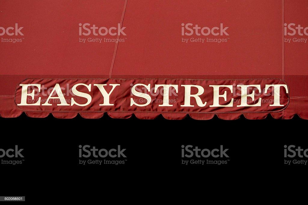 Semplice Cartello Stradale Su Sfondo Rosso E Nero Fotografie Stock