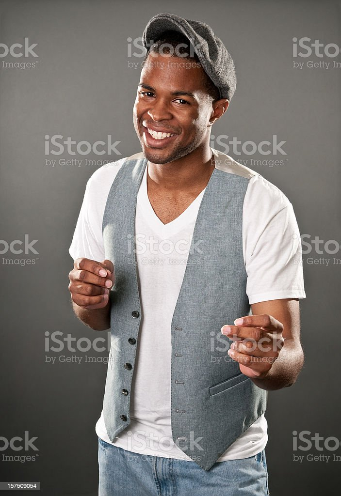 Easy-Going Guy stock photo