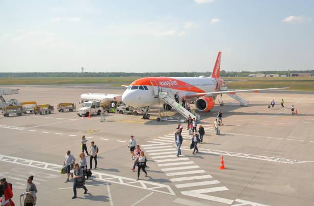 EasyJet airline stock photo