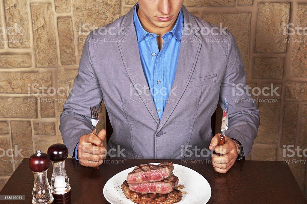 Essen Rindfleisch steak – Foto