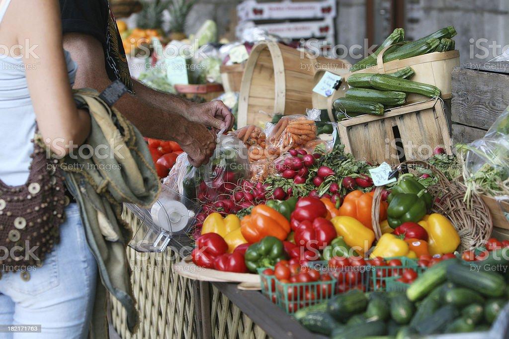 Eat fresh! stock photo