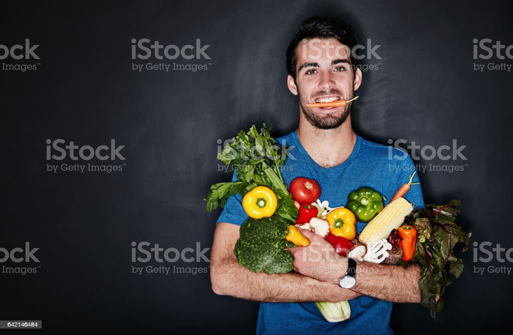 Eat good, look good, feel good stock photo