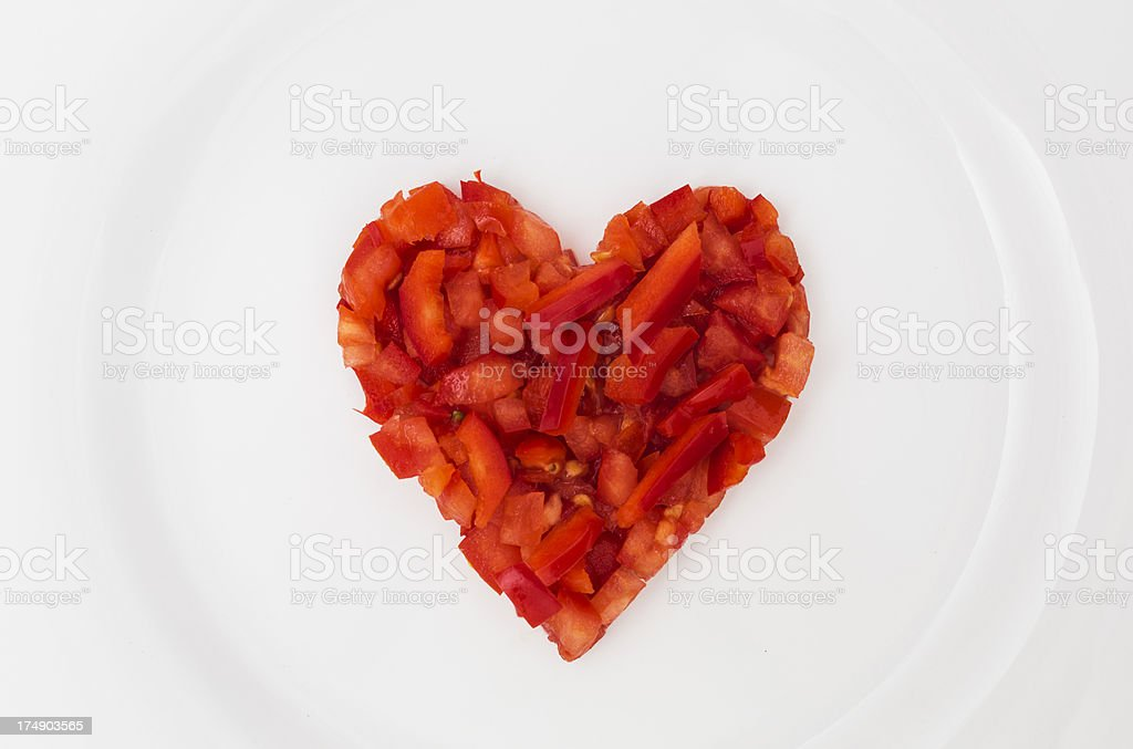 Eat healthy food royalty-free stock photo