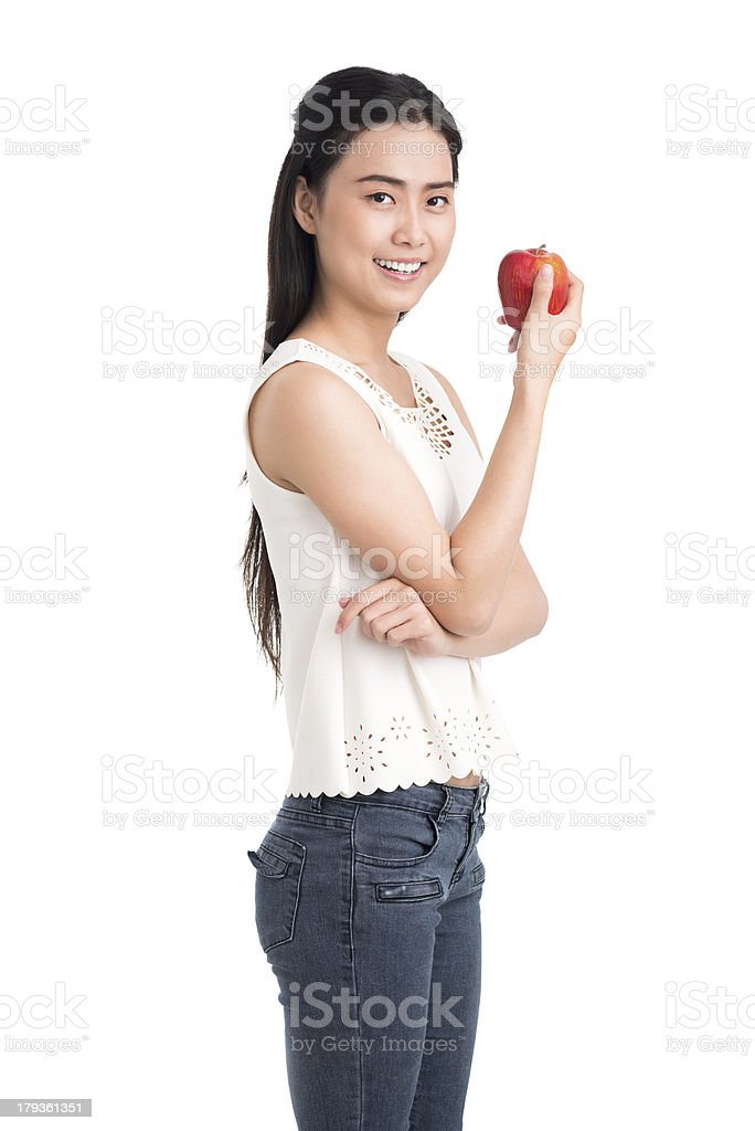 Eat healthy food! royalty-free stock photo