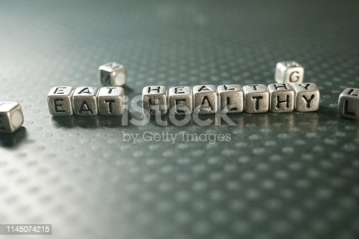 shot of block letters