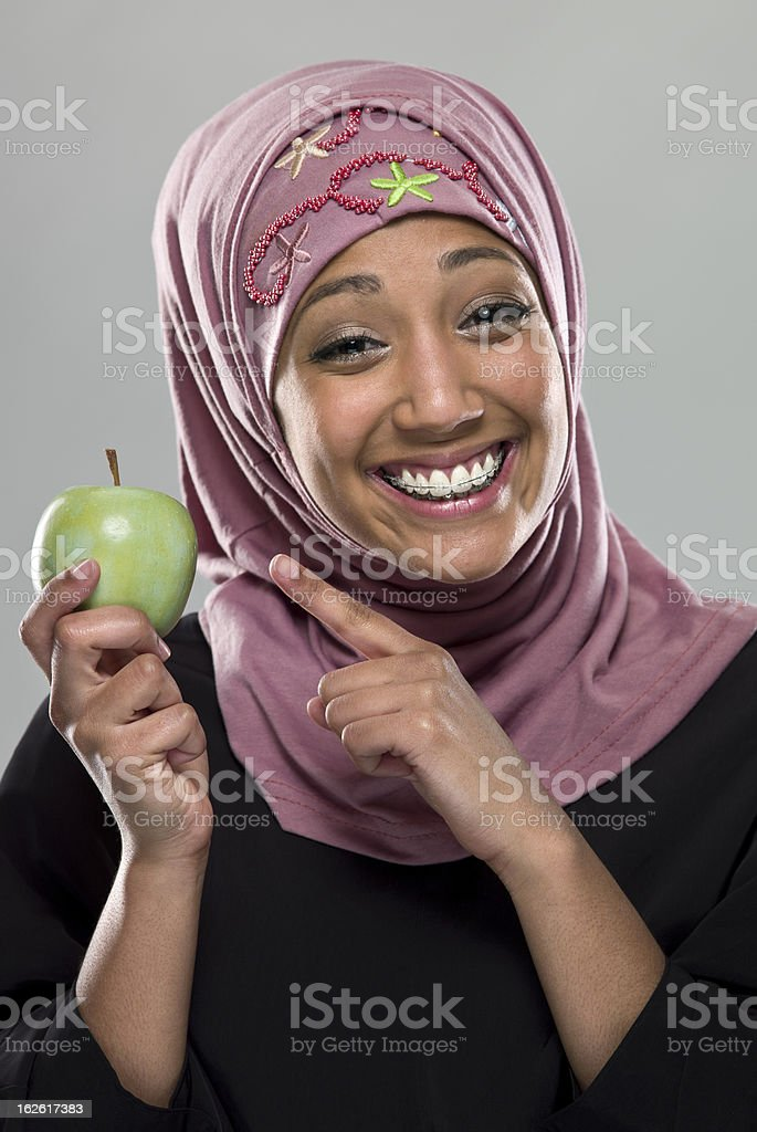 Eat healthy royalty-free stock photo