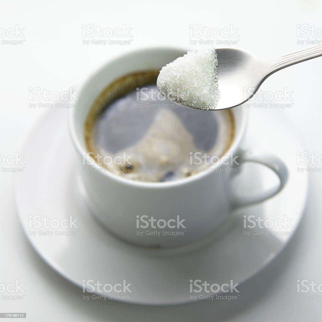 Tomar menos de azúcar - Foto de stock de Azúcar libre de derechos
