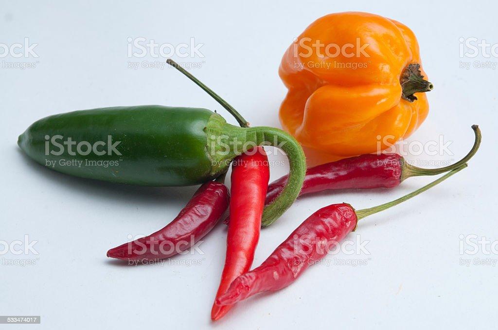 Eat me spicy stock photo