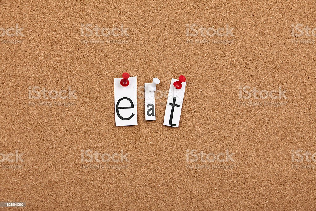 Eat royalty-free stock photo