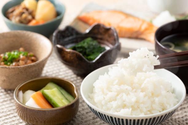 ごはん食べ - 日本食 ストックフォトと画像