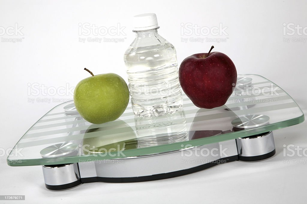 Eat Right, Weigh Less! stock photo