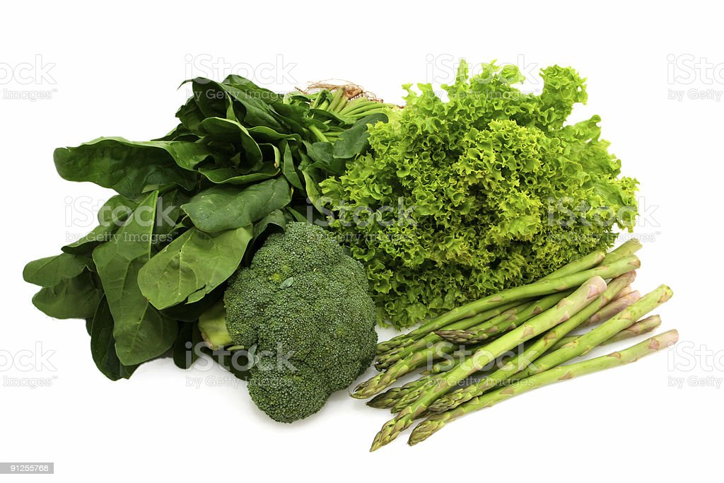 Eat Your Greens royalty-free stock photo
