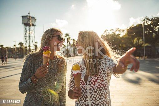 istock Eating an ice cream 611871102