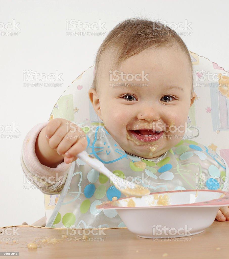 Ernährung baby Mädchen – Foto