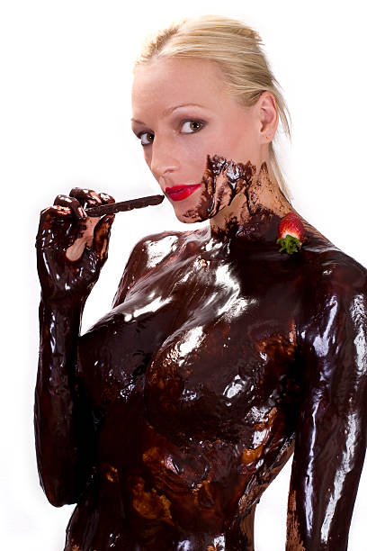 Royalty Free Chocolate Women Naked Sex Symbol Pictures, Images And Stock Photos - Istock-6024