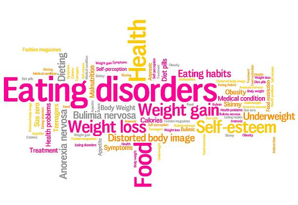 Eating disorders stock photo
