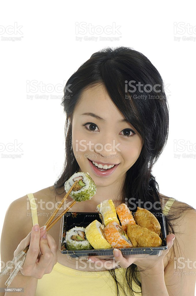 eating food royalty-free stock photo