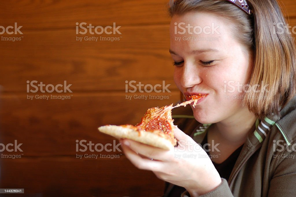 Eating Good stock photo