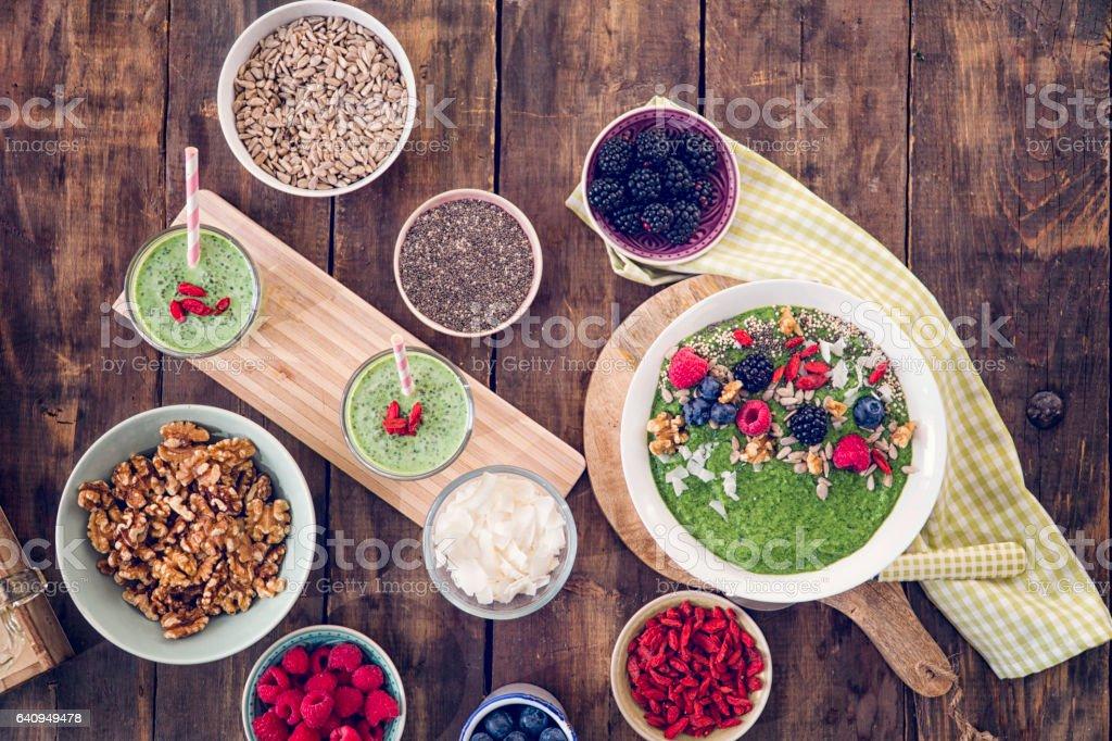 Manger des plats Superfood - Photo