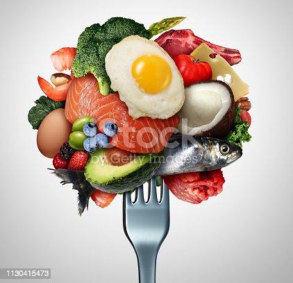 istock Eating Ketogenic Food 1130415473